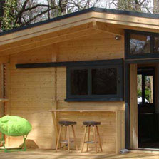 Le Chalet luxe camping les chamberts